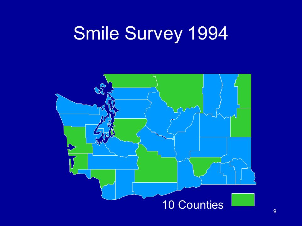 9 Smile Survey Counties