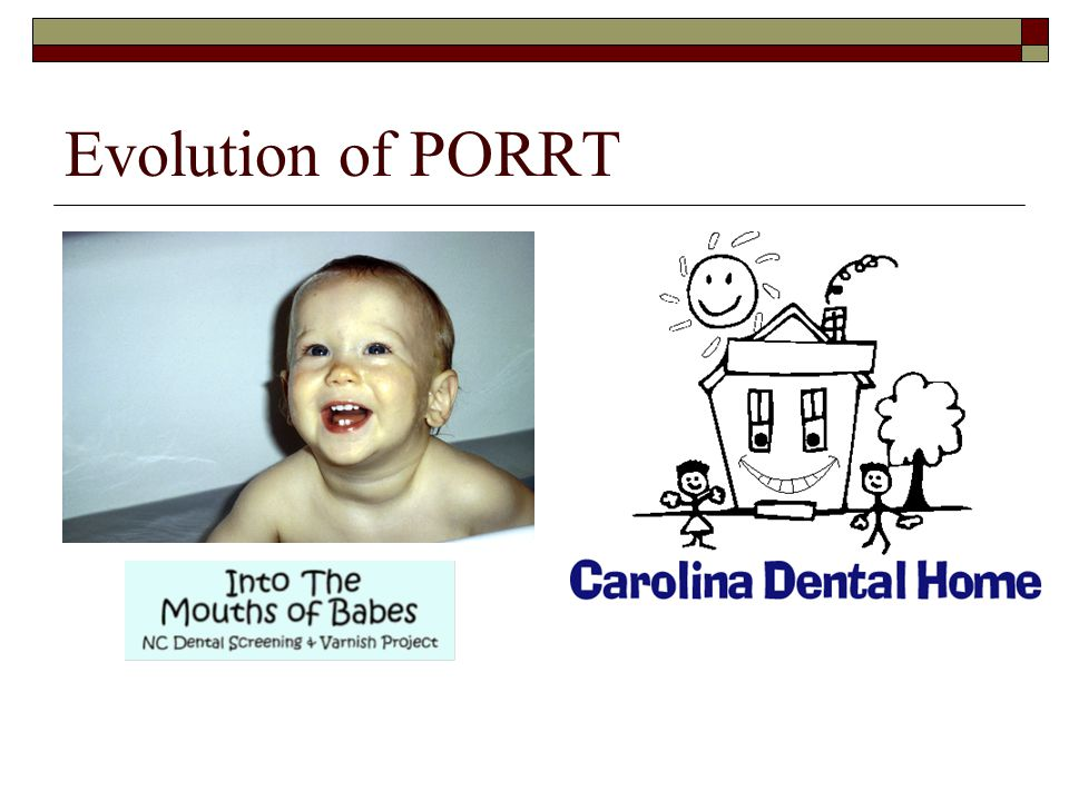 Evolution of PORRT