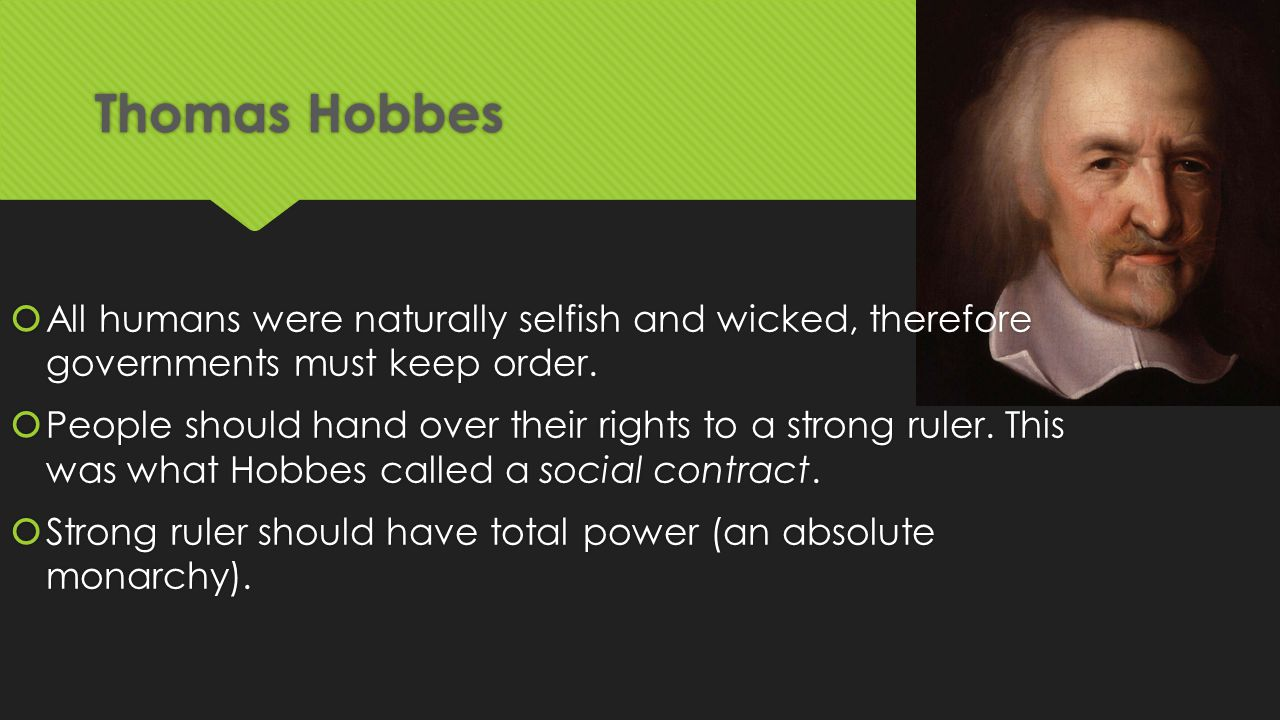 Thomas Hobbes Social Contract Quotes The Enlightenment Who's Who The Enlightenment Was A Time When