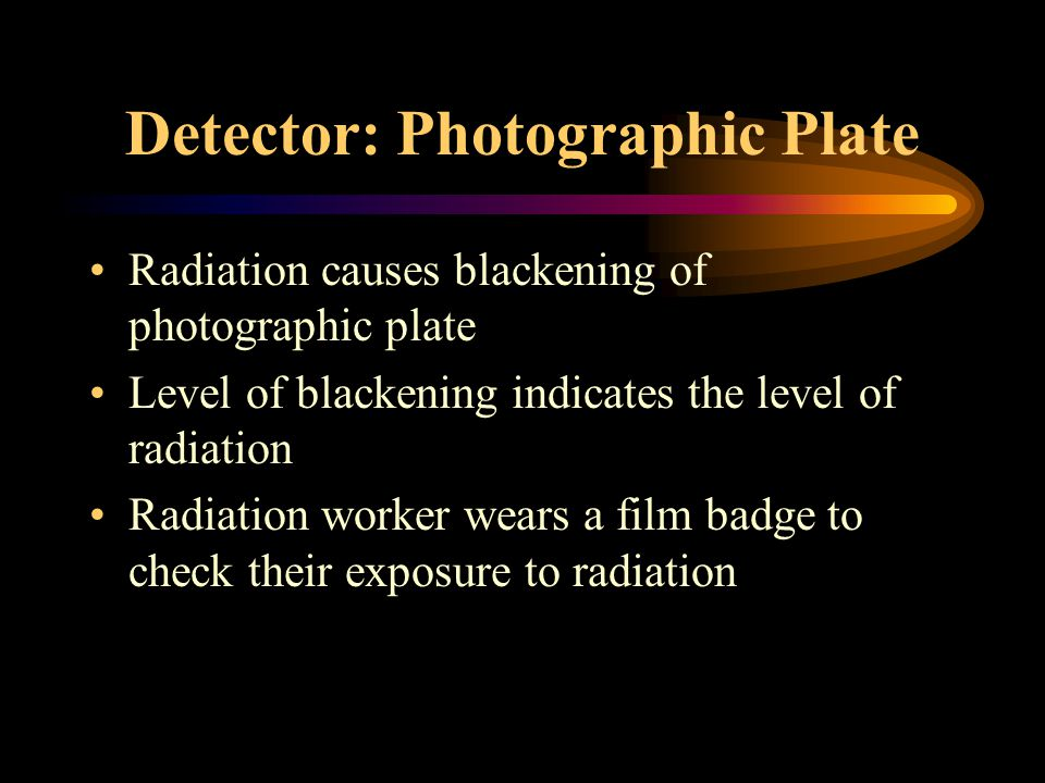 Detecting Radiation Photographic Plate Diffusion Cloud Chamber Spark Counter Geiger-Muller Tube