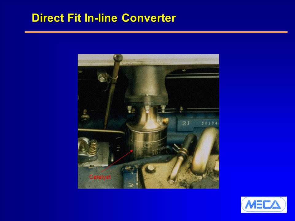 Direct Fit In-line Converter Catalyst
