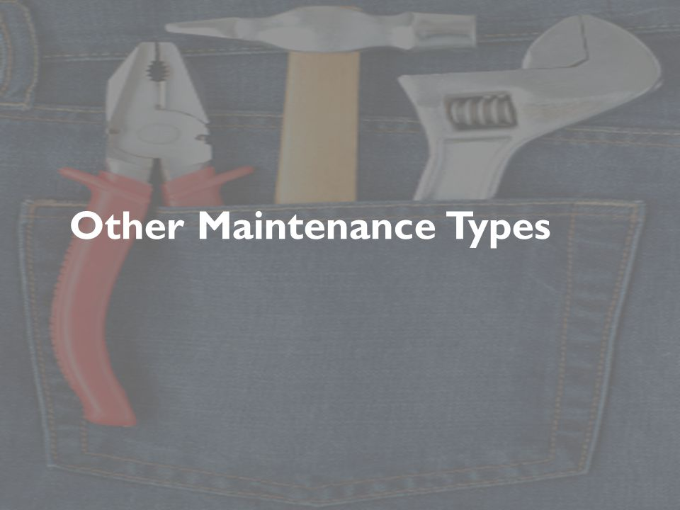 Other Maintenance Types
