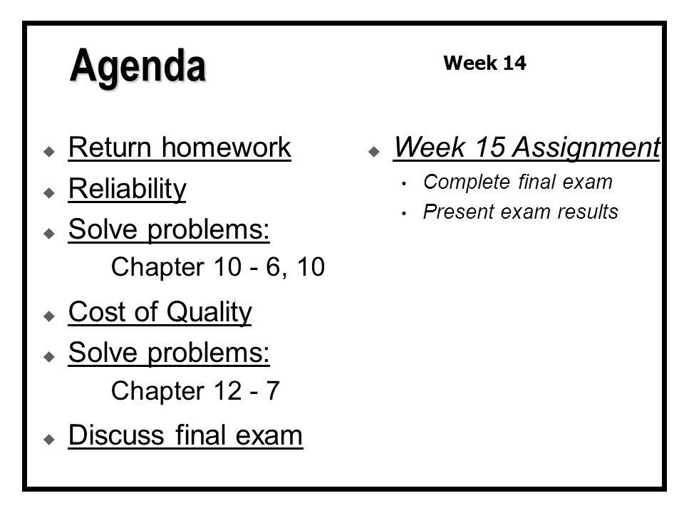 chapter 6 10 homework