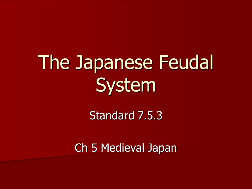 What was the fuedle system? HELP ESSAY?