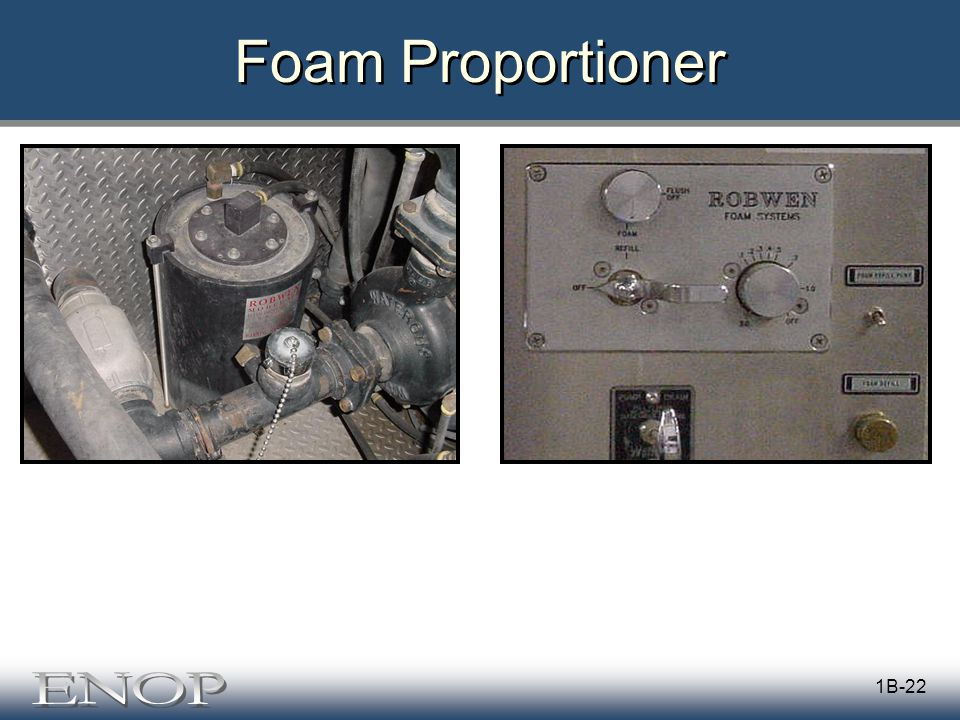 1B-22 Foam Proportioner