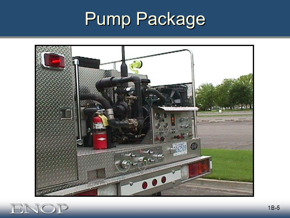 1B-5 Pump Package