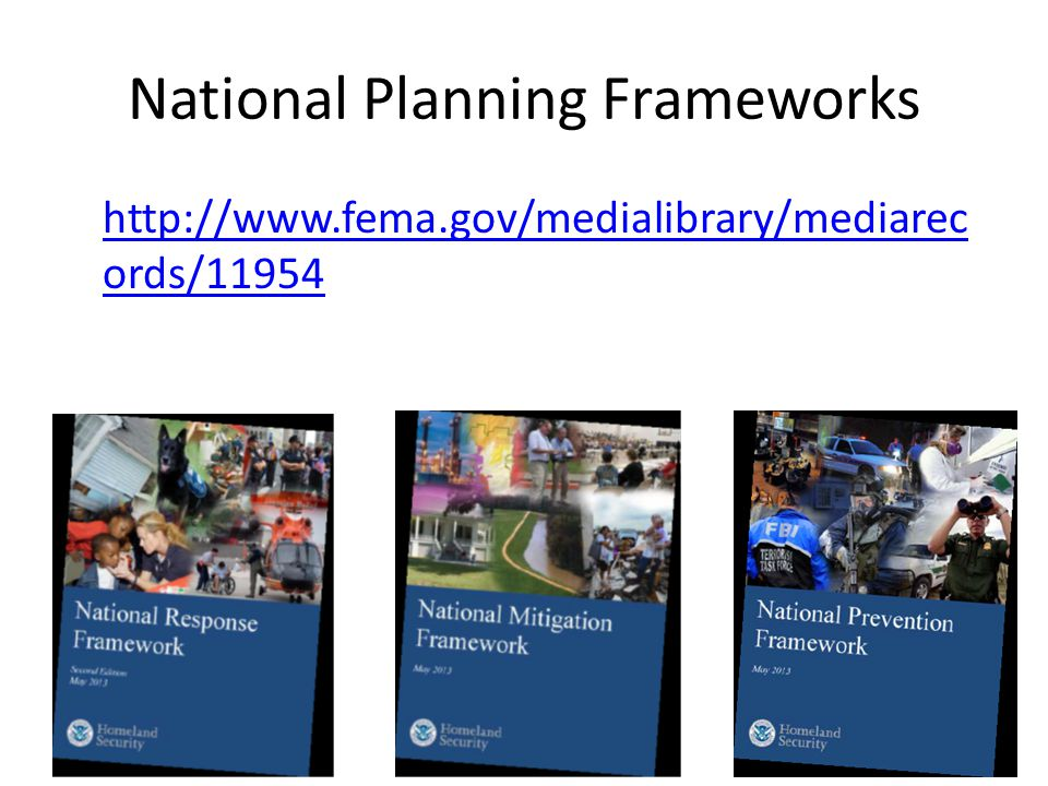 National Planning Frameworks   ords/11954