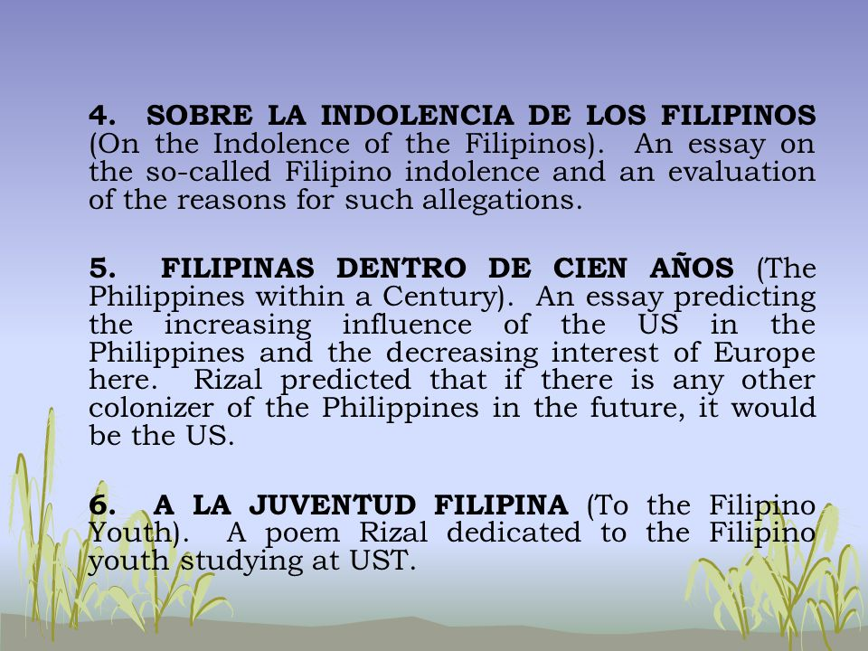short essay written by filipino authors
