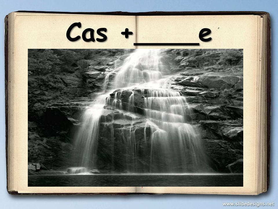 Cas +____e