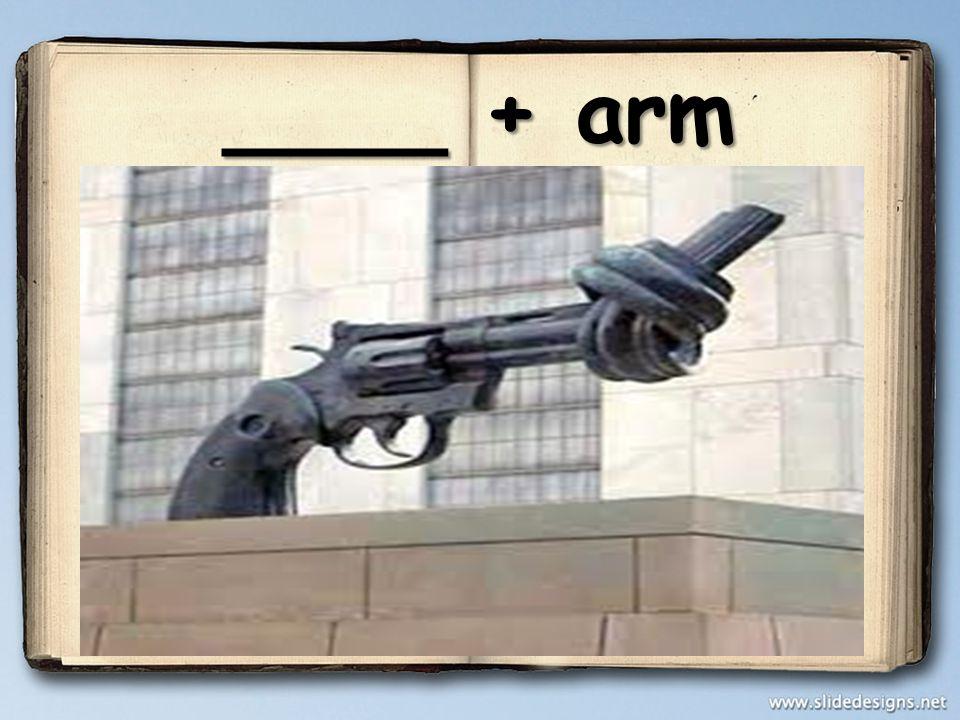 ____ + arm