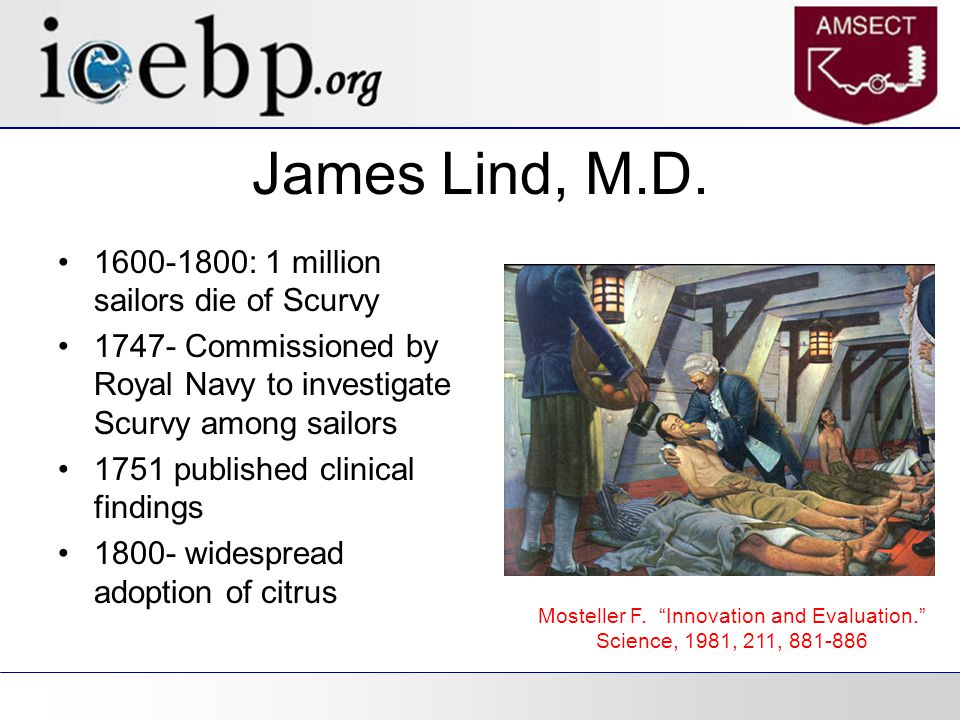 James Lind, M.D.