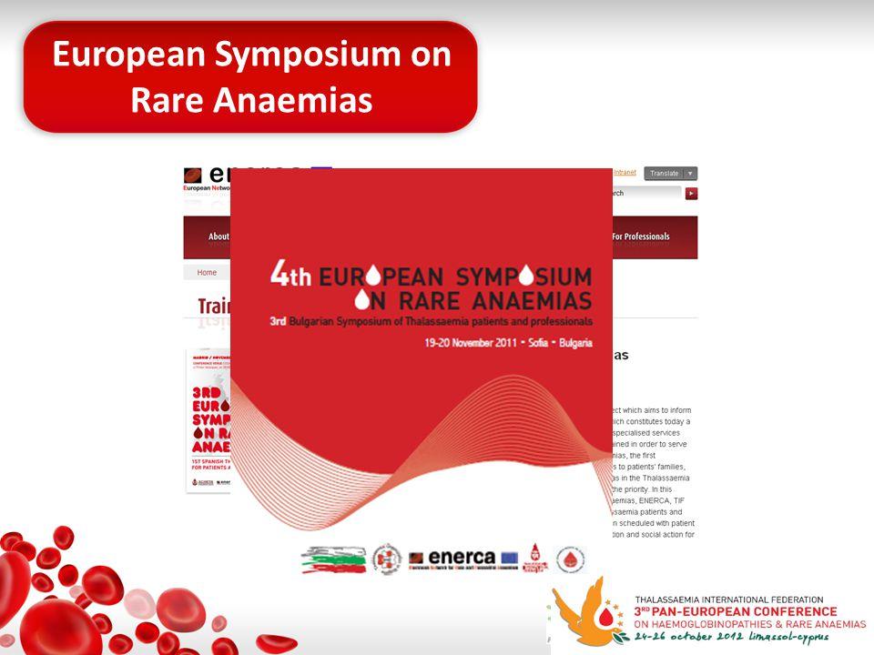 European Symposium on Rare Anaemias