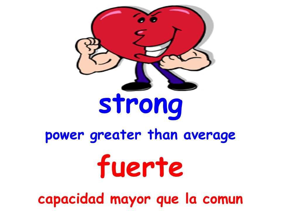 strong power greater than average fuerte capacidad mayor que la comun