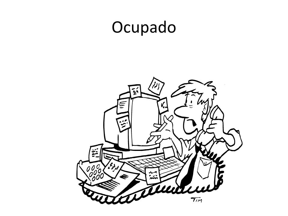 Ocupado