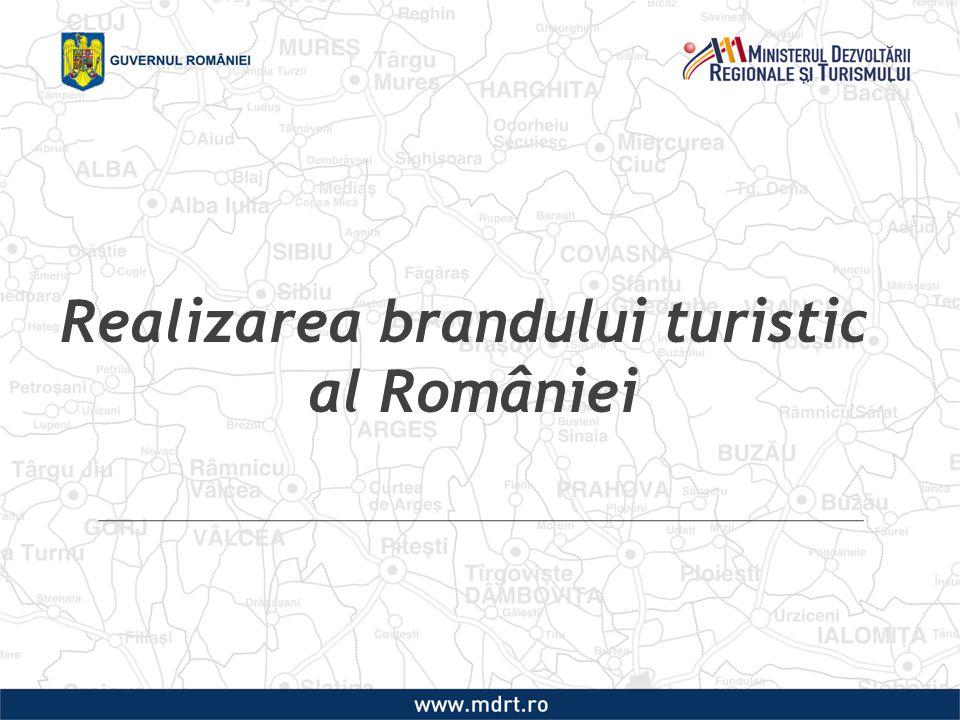 Realizarea brandului turistic al României