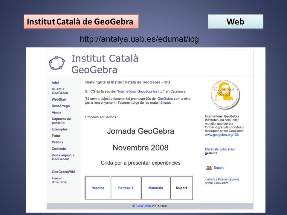 Web http://antalya.uab.es/edumat/icg