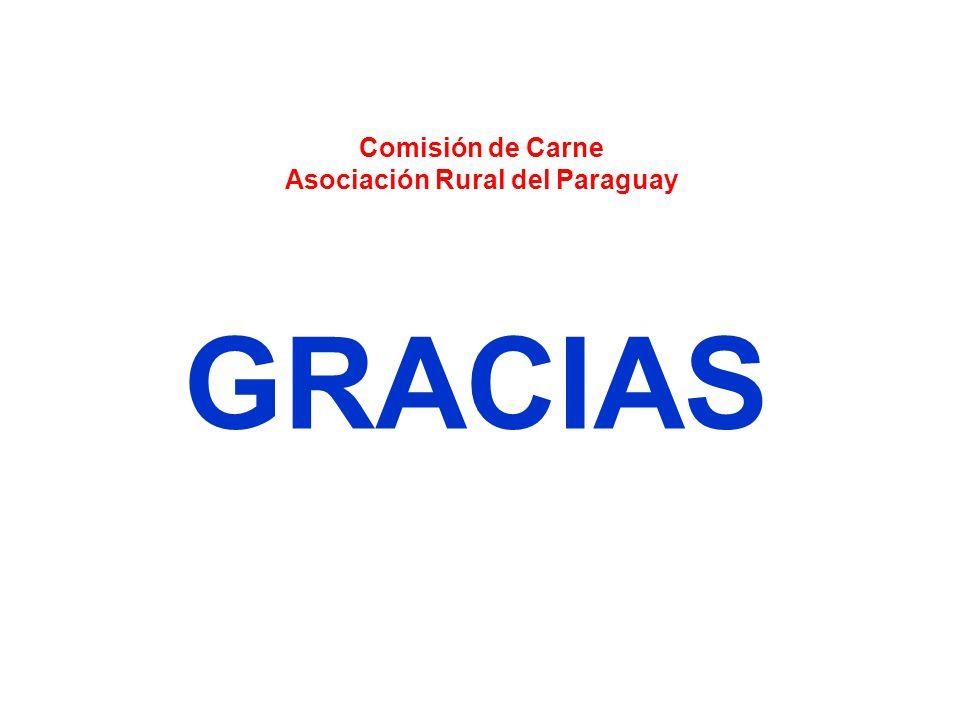GRACIAS Comisión de Carne Asociación Rural del Paraguay