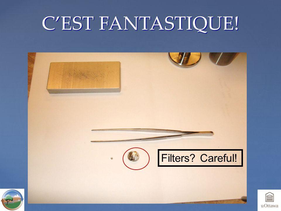 C'EST FANTASTIQUE! Filters Careful!