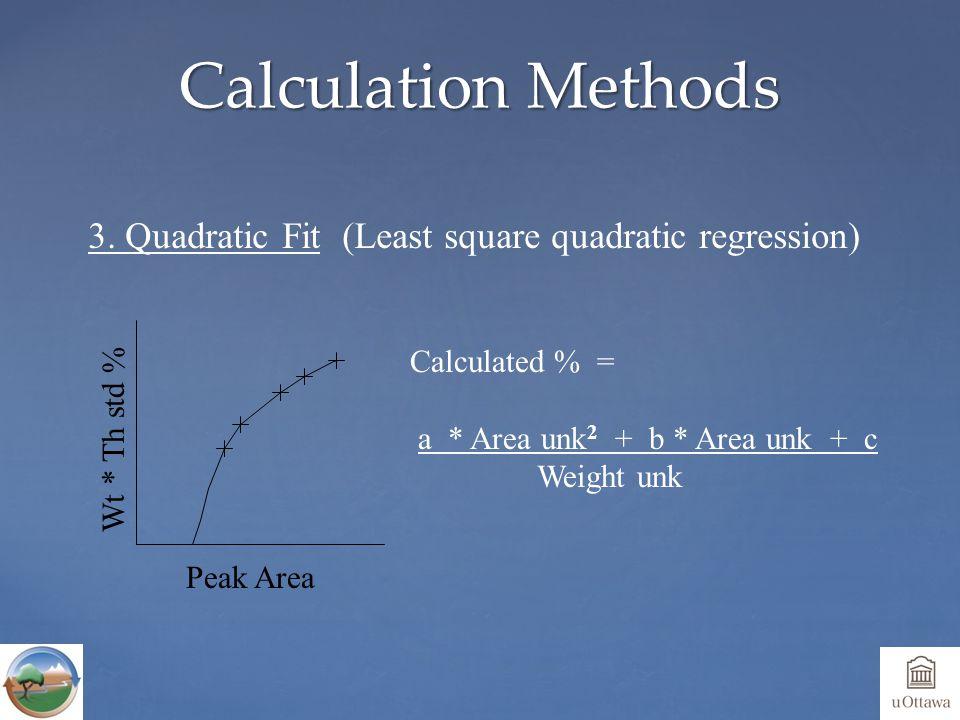 Calculation Methods 3.
