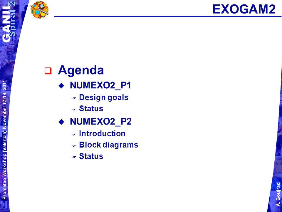 Prometeo Workshop (Valencia) November 17-18, 2011 A.