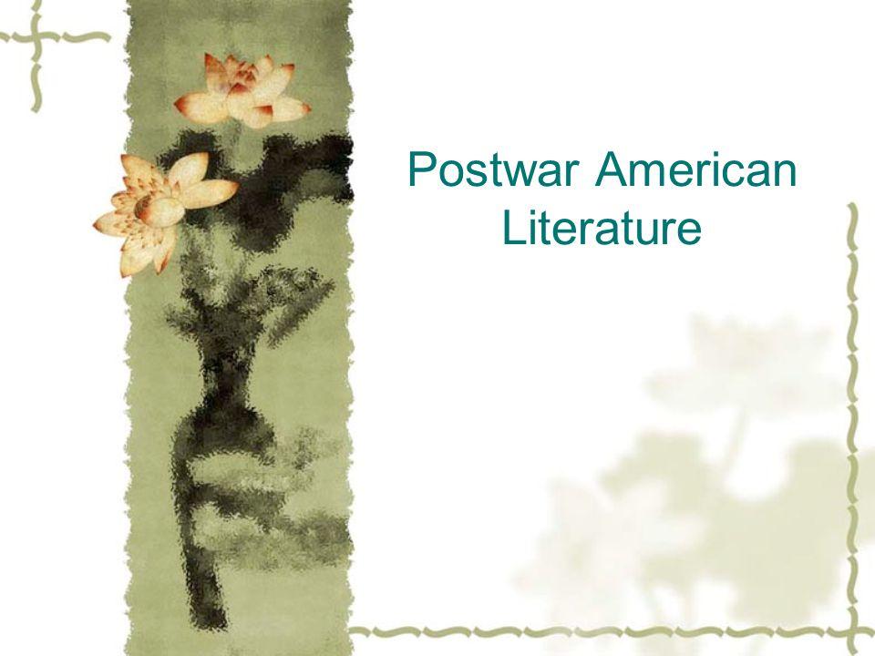 Postwar American Literature