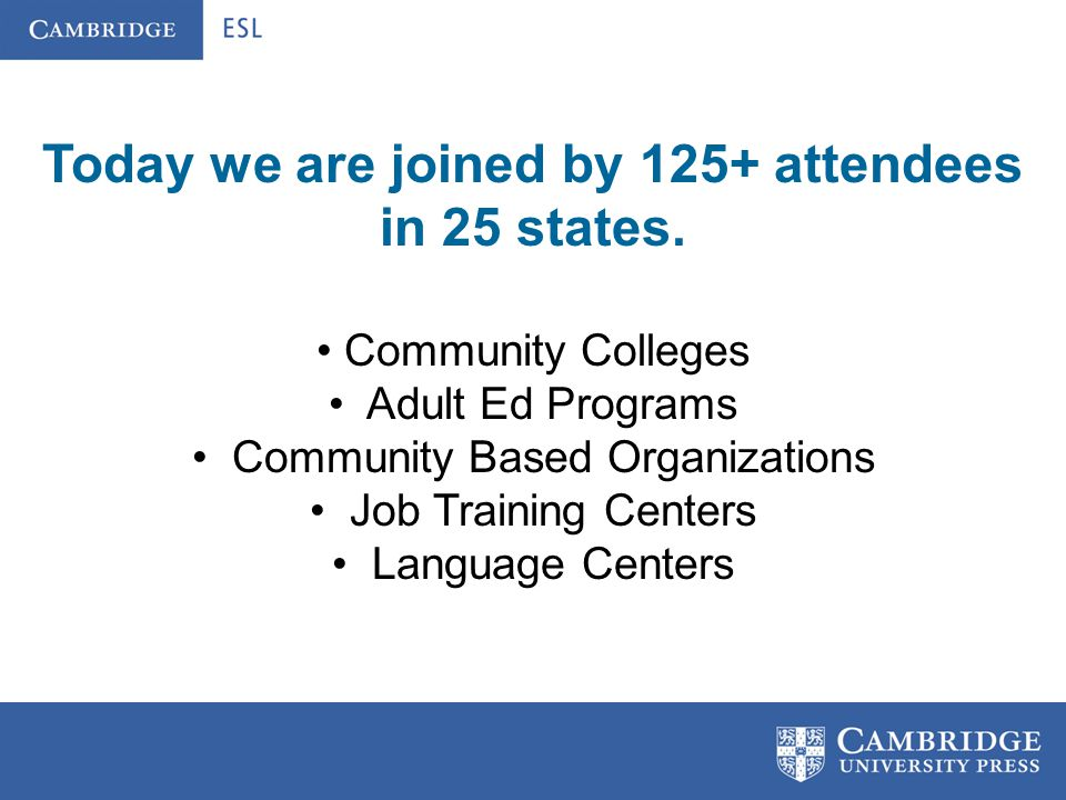 Webinar Objectives: Discuss WHY transition programs have become increasingly important.