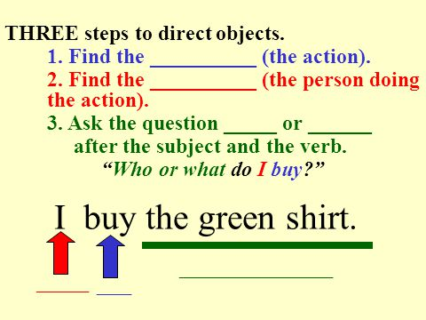 Direct Objects and Direct Object Pronouns (DOPs) Los objetos directos y los complementos directos (DOPs) Avancemos 1 Unidad 4.1