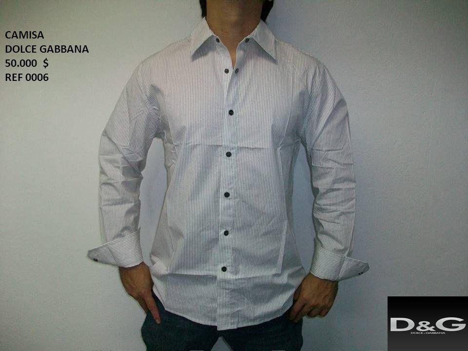 CAMISA DOLCE GABBANA 50.000 $ REF 0006