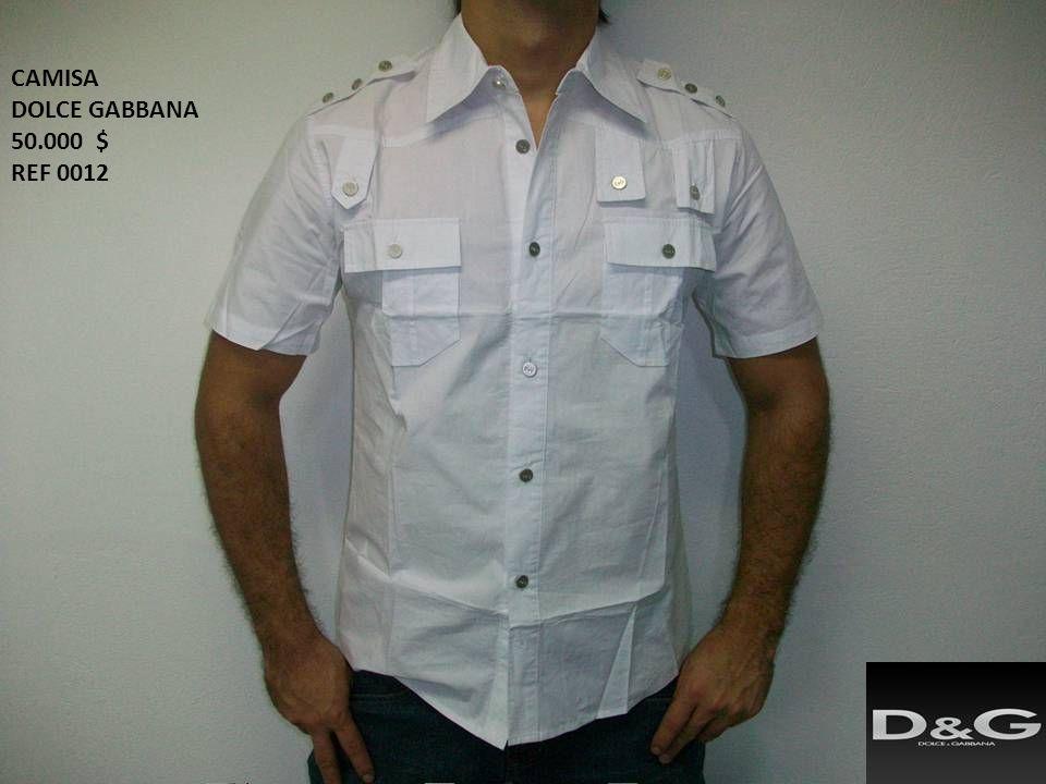 CAMISA DOLCE GABBANA 50.000 $ REF 0012
