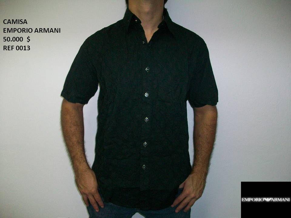 CAMISA EMPORIO ARMANI 50.000 $ REF 0013