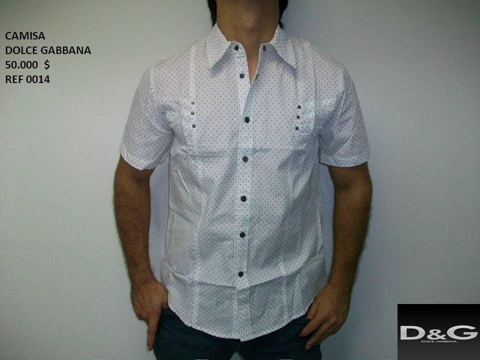 CAMISA DOLCE GABBANA 50.000 $ REF 0014