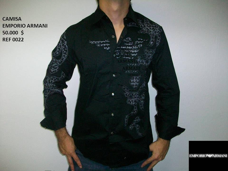 CAMISA EMPORIO ARMANI 50.000 $ REF 0022