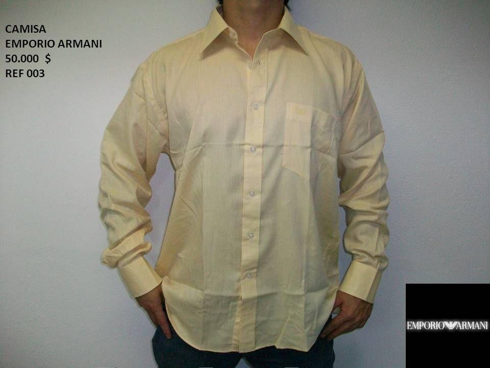 CAMISA EMPORIO ARMANI 50.000 $ REF 003