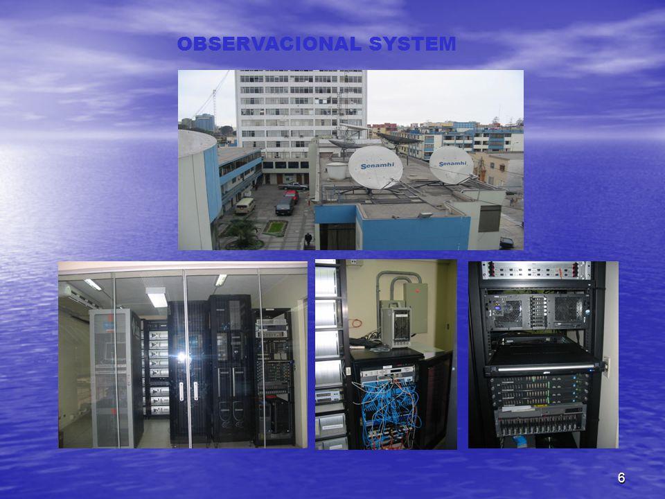 6 OBSERVACIONAL SYSTEM