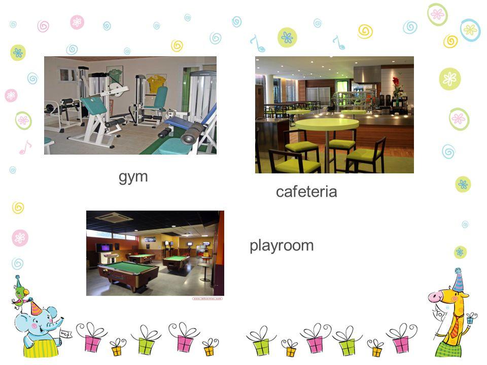 gym cafeteria playroom