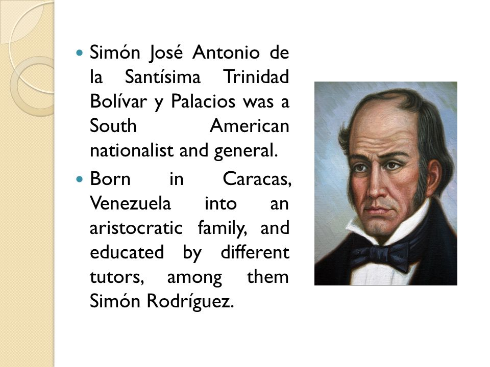 Following the death of his parents, he went to Spain in 1799.