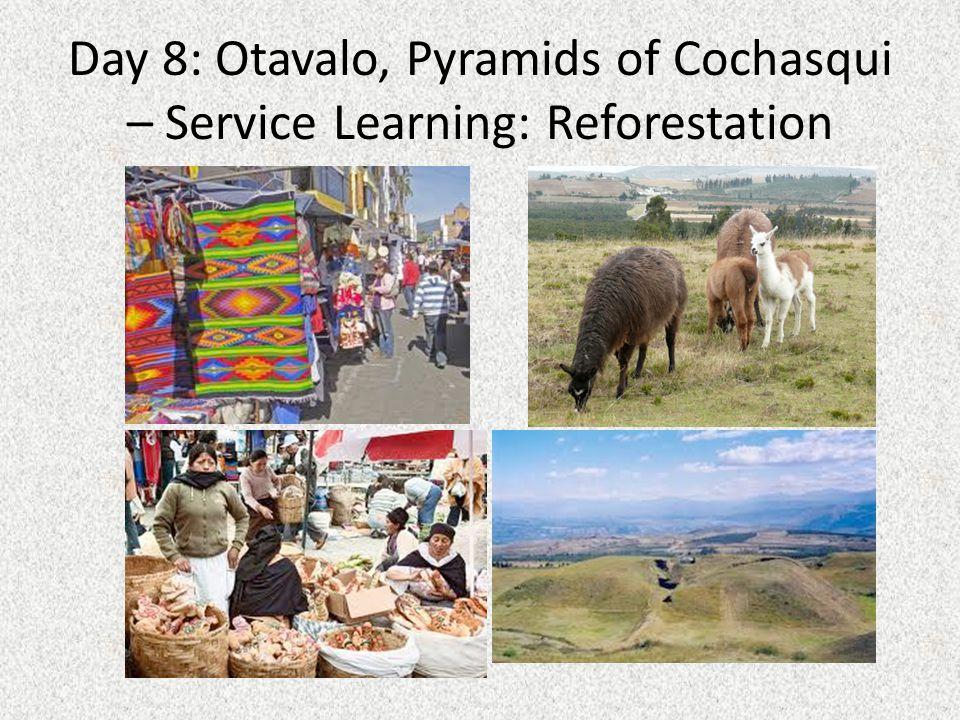 Day 9: Otavalo, Malchingui – Service Learning: Reforestation