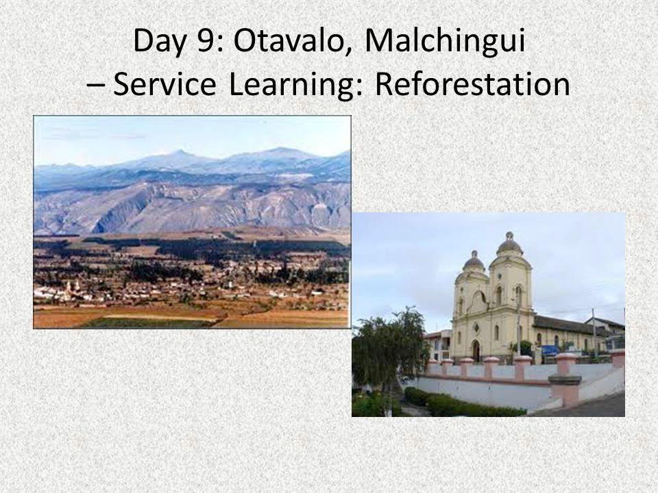 Day 10: Tena, Papallacta Hot Springs, Misahualli