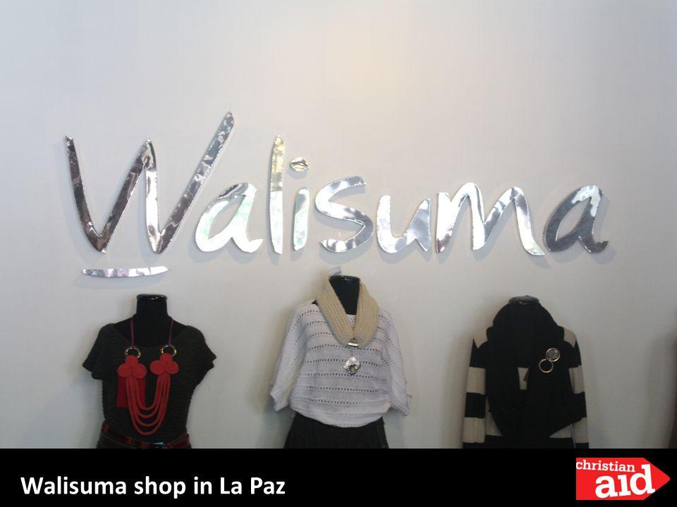 Walisuma shop in La Paz