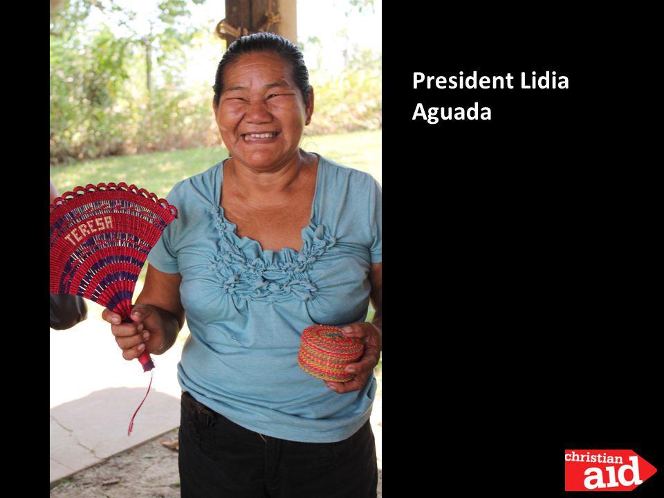 President Lidia Aguada