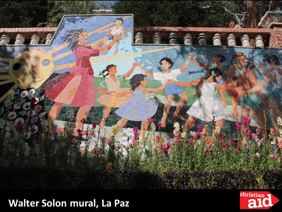Walter Solon mural, La Paz