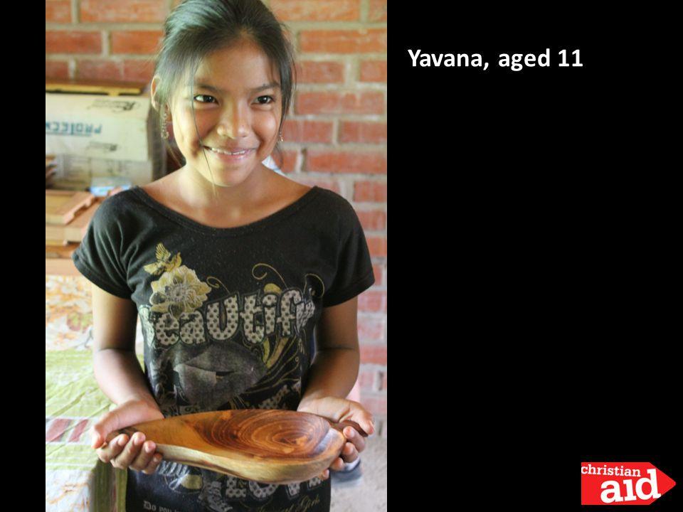Yavana, aged 11