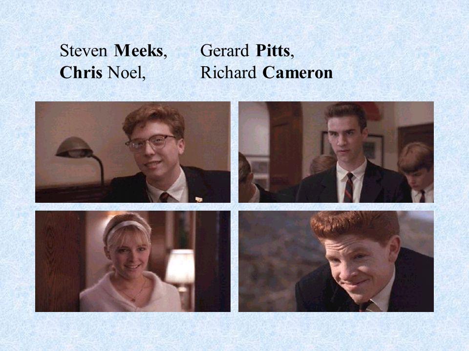 John Keating, McAllistar, Mr. Nolan, Mr. Perry