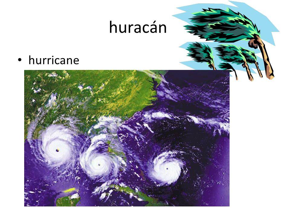 huracán hurricane
