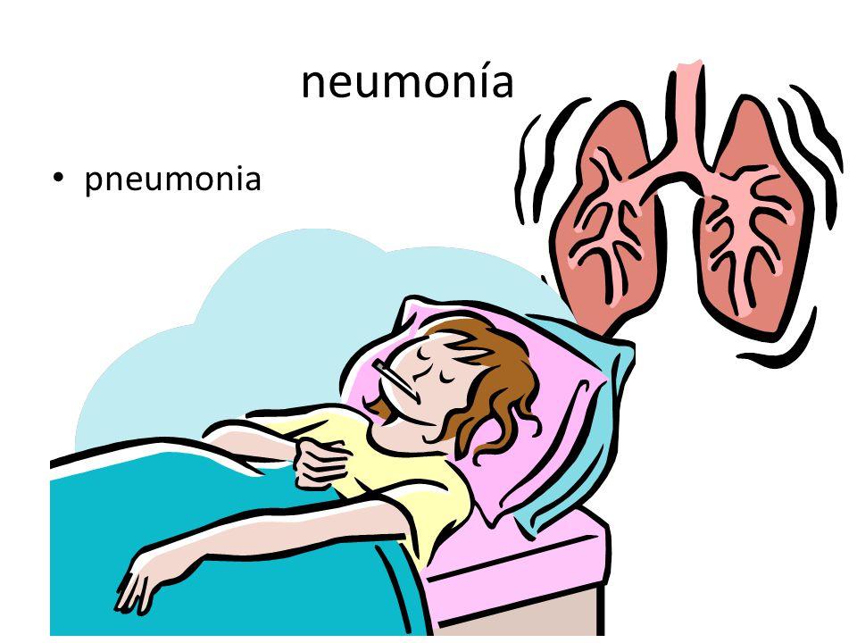 neumonía pneumonia