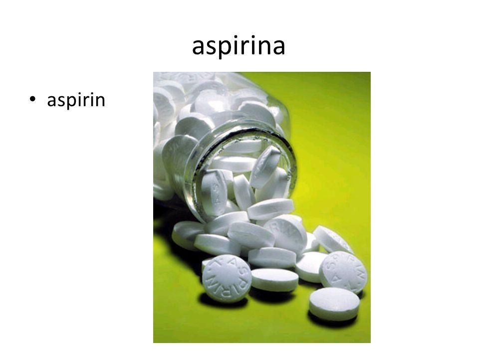 aspirina aspirin