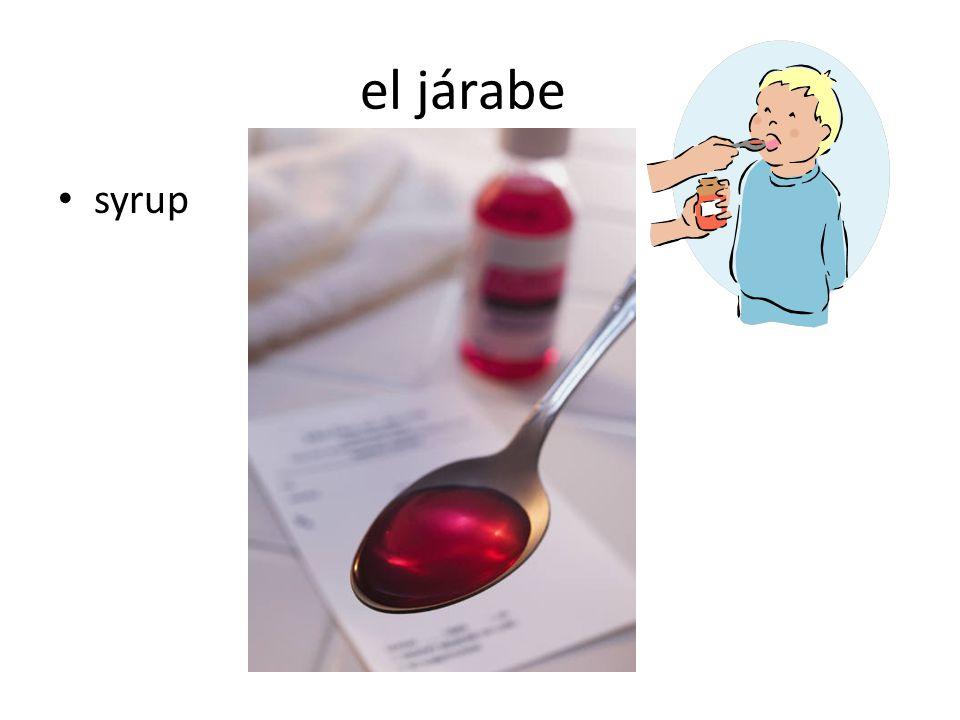 el járabe syrup