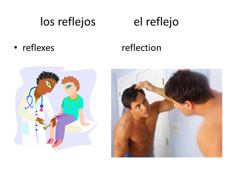 los reflejos el reflejo reflexes reflection