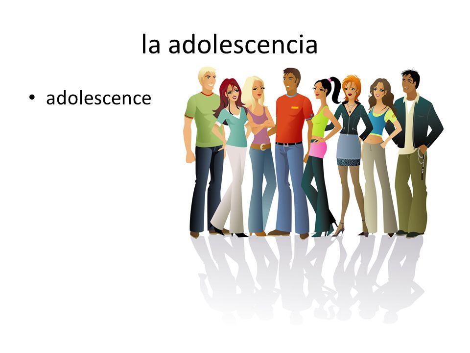 la adolescencia adolescence