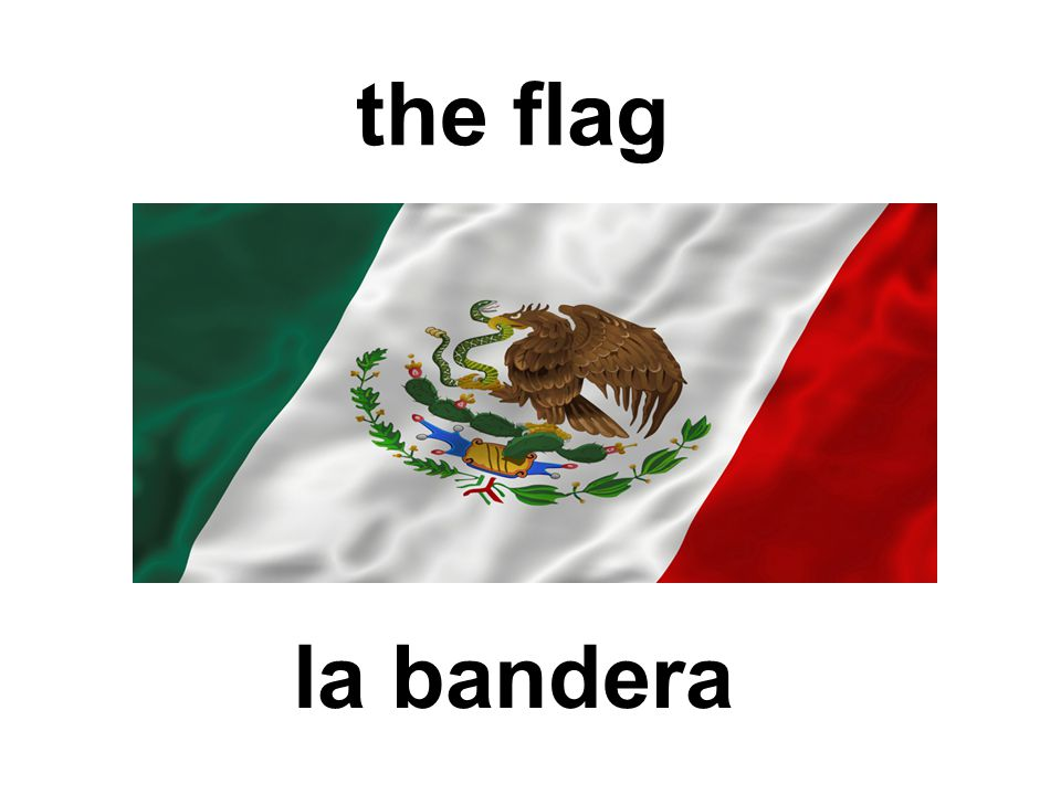 the flag la bandera
